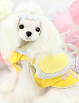 Dog Hoodie Red / Pink / Yellow Spring/Fall Fashion