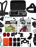 1 Set Accessoires GoPro Etui de protection / Monopied / Avec Bretelles / Suction / Poignées / Filtre Anti Buée PourTous / SJCAM / Xiaoyi