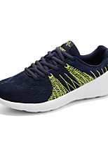 Men's Shoes Outdoor / Casual Fabric Fashion Sneakers Black / Green / Gray