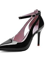 Chaussures Femme - Bureau & Travail / Habillé / Soirée & Evénement - Noir / Rouge / Blanc - Talon Aiguille - Talons / Bout Pointu - Talons