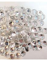 1440pcs/pack-Bijoux pour ongles-Doigt- enBande dessinée-SS3: 1.3-1.4mm SS4: 1.5-1.7mm SS5: 1.7-1.9mm SS6: 1.9-2.1mm SS8: 2.3-2.5mm