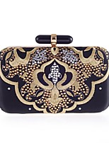 L.WEST® Women's Embroidered Diamonds Party/Evening Bag