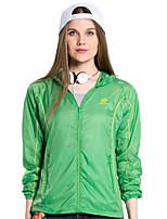 Women Outdoor Sport Skin Jacket Windbreaker Waterproof Sun & UV protection Lightweight Coat