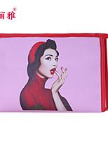 Rangement pour Maquillage Trousse à Cosmétiques / Rangement pour Maquillage PU Dessin-Animé Carré 19x11.6x10cm Bleu / Violet / Rose