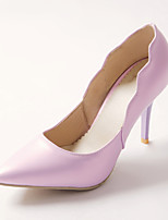 Women's Shoes Patent Leather Stiletto Heel Heels / Pointed Toe Heels Office & Career / Dress Green / Purple / Beige