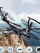 JJRC H8C Drone 6 axes 4 canaux 2.4G RC QuadcopterRetour automatique / Auto-Décollage / Failsafe / Mode sans tête / Vol rotatif de 360