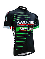Set di vestiti/Completi-Ciclismo-Per uomo-Maniche corte-Traspirante / Resistenteai raggi UV / Permeabile all'umidità / Asciugatura