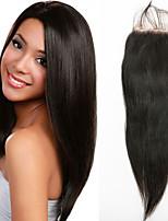 Human Hair Lace Closure Straight Virgin Hair Closure 12inch Free Part Hair Closure