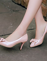 Women's Shoes Stiletto Heel Pointed Toe Heels Casual Black / Pink / White / Beige