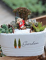 Creative Retro Garden Cement Crafts Home Furnishing Decoration Artificial Flowers Vases/Flowerpot