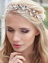 Bride's Drop Water Shape Rhinestone Forehead Wedding Headbands 1 PC