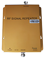 Tri Band Signal Repeater GSM 900MHz DCS 1800MHz WCDMA 2100MHz Three Networks Mobile Phone Booster Coverage 1000m2
