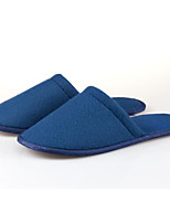 Women's Shoes Fabric Flat Heel Slippers Slippers Casual Blue / Red / White