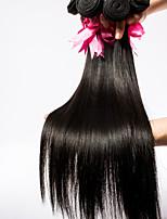 3pieces/lot Human Hair Weaves 14inch Human Hair Extension Silk Straight Virgin Hair Tangle Free