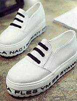Women's Shoes Canvas Platform Creepers Fashion Sneakers Outdoor / Casual Black / Green / White