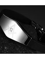 Silicone Titanium Steel Buckle Men Anchor Bracelet