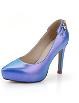 Women's Shoes Stiletto Heel Heels Heels Office & Career / Party & Evening / Dress Blue / Pink