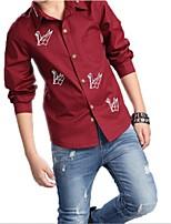 Boy's Cotton Shirt , Spring Long Sleeve