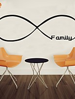 AYA™ DIY Wall Stickers Wall Decals, Family English Words & Quotes PVC Wall Stickers