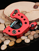 Professional Handmade Tattoo Machine Red Color Machine Tattoo Supply