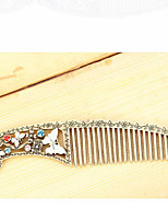 MISSING U Crystal / Alloy / Rhinestone Hair Combs Daily / Casual 1pc
