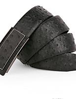 Men Leather Waist Belt , Work Leather