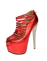 The new summer T type straps, straps, hollow fish mouth super sexy high-heeled sandals