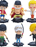 One Piece Hand Navigation King 75 Generation 6 A Q Version of Office Small Doll Ornaments Garage Kit