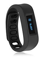 reloj de pulsera con parámetros SNYC deportes función de monitorización del sueño datos para hacer ejercicio al aire libre (negro)