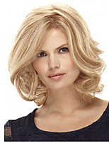 CLASSY Bob Style Blonde Wave Synthetic Wigs for Europen and  America Ladies