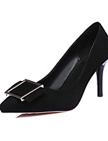 Women's Shoes  Heel Heels / Pointed Toe Heels Office & Career / Party & Evening / Dress Black / Red