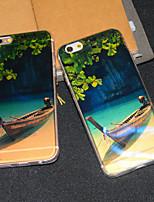 Para Capinha iPhone 6 / Capinha iPhone 6 Plus Estampada Capinha Capa Traseira Capinha Cenário Macia TPUiPhone 6s Plus/6 Plus / iPhone