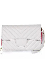 Women Leatherette Phone Bag Card Holder Black&White(Assorted Colors)