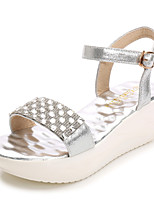 Women's Shoes  Platform Peep Toe / Platform / Creepers / Open Toe Sandals Dress / Casual Silver