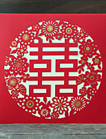 Personalized Gate-Fold Wedding Invitations Invitation Cards - 50 Piece/Set