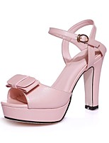Women's Shoes Customized Materials Chunky Heel Heels / Peep Toe  / Slingback / Comfort  / Round Toe / Open Toe Sandals