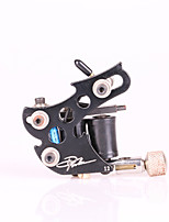 Top Quality Alloy Tattoo Machine Liner 10 Coils Black