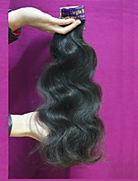 new 7a quality peruvian virgin hair body wave raw remy peruvian human hair mixed length 300g lot natural color