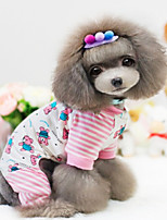 Hunde Mäntel Rosa Winter Modisch