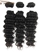 Top Quality 3 Bundles Brazilian Deep Wave Virgin Brazilian Human Hair Weaves Queen Weave Beauty Brazilian Deep Wave