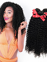 EVET Unprocessed Brazilian 100% Real Virgin Human Hair Weave Kinky Curly Extensions 3 Bundles