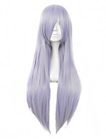 Purple Color Cosplay Synthetic Wigs Cheap Straight Wigs For Black Women Fashion Wigs