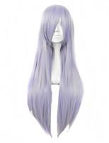 color púrpura cosplay pelucas sintéticas pelucas rectas económicas para las mujeres negras pelucas de la manera