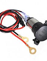 12V 120W Car Motorcycle Cigarette Lighter Power Socket 60cm Cord