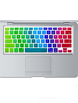 Rainbow Bright Design Silicone Keyboard Cover Skin for MacBook Air 13.3, MacBook Pro With Retina 13 15 17 US Layout