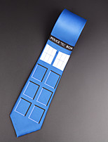 Doctor Who Tie Necktie Tardis Bbc Cool Sexy Wedding Party Gift Present Police Box