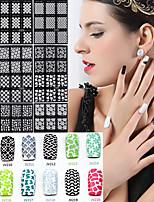 20pcs Nail Art Sticker Autocolantes de Unhas 3D maquiagem Cosméticos Prego Design Arte