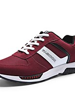 Men's Shoes Casual Canvas Fashion Sneakers Black / Blue / Red / Gray