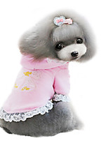 Dog Coat Pink / Purple Winter Fashion