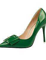 Women's Shoes Leatherette Stiletto Heel Heels Heels Casual Black / Green / Purple / Red / White / Gray